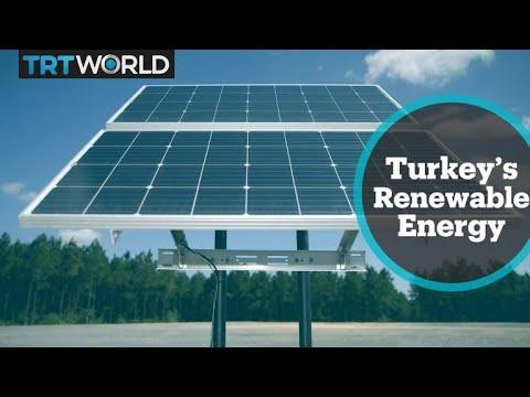 Turkey's Renewable Energy: Farmers use solar power to help grow produce