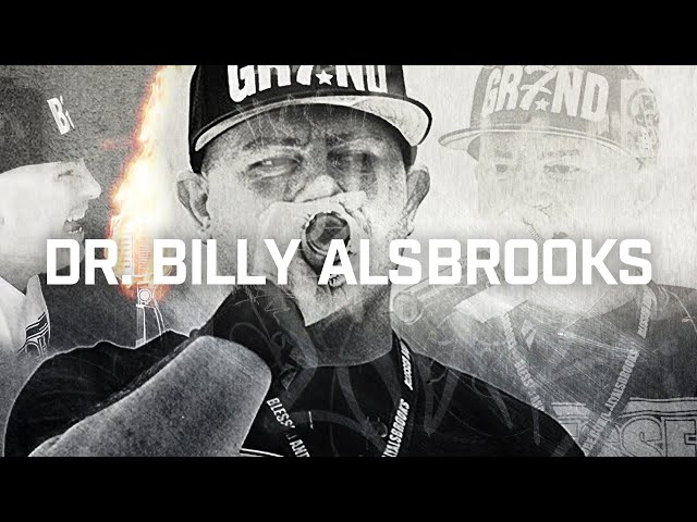 DR. BILLY ALSBROOKS: Motivational Artist, Award-Winning Poet, Author of Blessed And Unstoppable