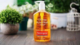 Review Oil-free Acne Wash microclear của Neutrogena sữa rửa mặt trị mụn tốt nhất