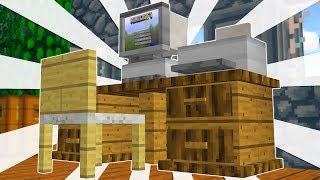 BUILD YOUR OWN FURNITURE IN MINECRAFT?!