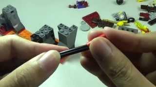 Review Lego Ninjago 70753 Lava Falls And Built