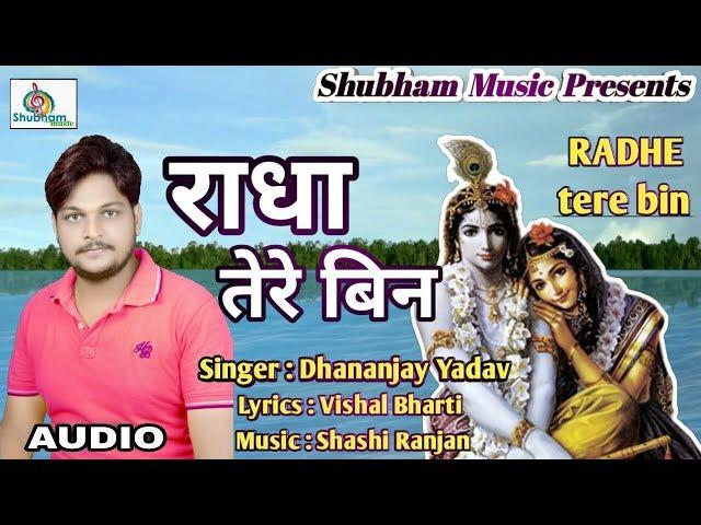 श्री कृष्ण जी का मधुर भजन ll Radha tere bin राधा तेरे बिन ll Dhananjay Yadav