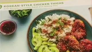 My Hello Fresh Adventure: Korean Style Chicken Thighs