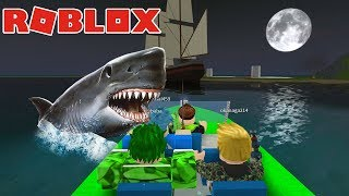 EV KURUYORUZ / Roblox Shark Attack Beta / Roblox Adventures / Oyun Safı