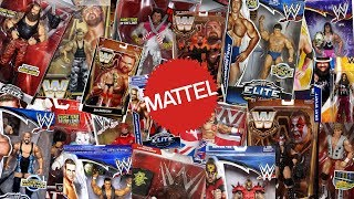 How Many Different WWE Superstars Have Mattel Made Figures Of??? Part 1