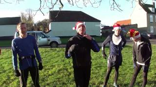 Ely Runners Pre-Christmas Winter, Off-Road, Training Frolic