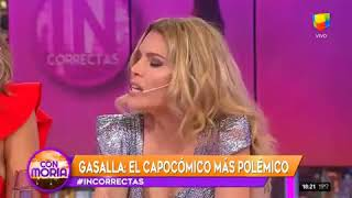 Antonio Gasalla con Moria Casan en Incorrectas