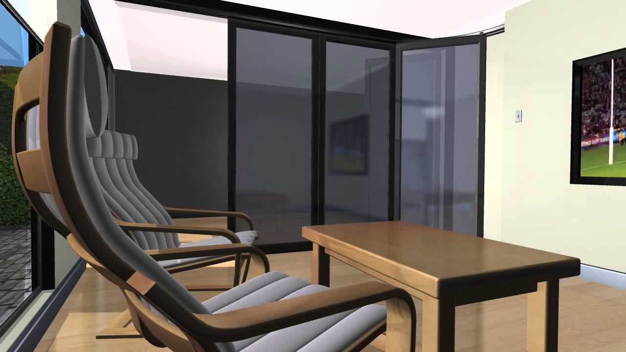 Hufcor residential operable walls revise jan 23 2012 youtube - Folding partitions residential ...