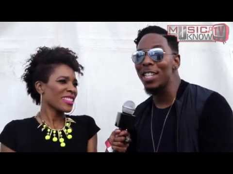 Deitrick Haddon Interview with Angi T @TasteofSoulFest2015