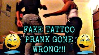 FAKE TATTOO PRANK ON CARIBBEAN MOM GONE WRONG!! ( MUST WATCH)