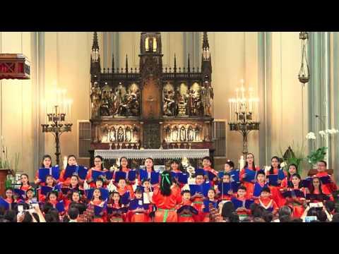 Ding Dong - Koor St Angela, konser Natal 24-12-2016