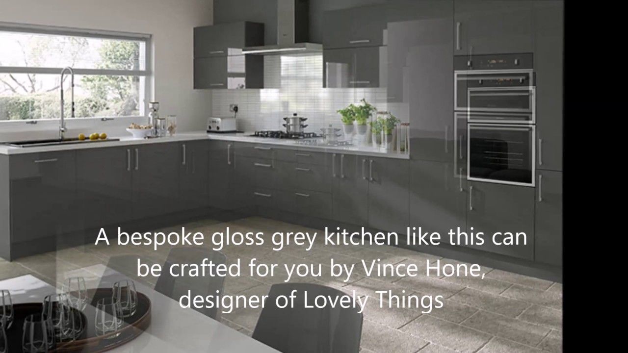 Exceptionnel Gloss Grey Kitchen   By LovelyThings