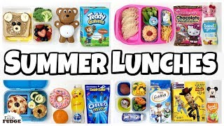Week of Summer Lunches 🍎 Bunches of Lunches