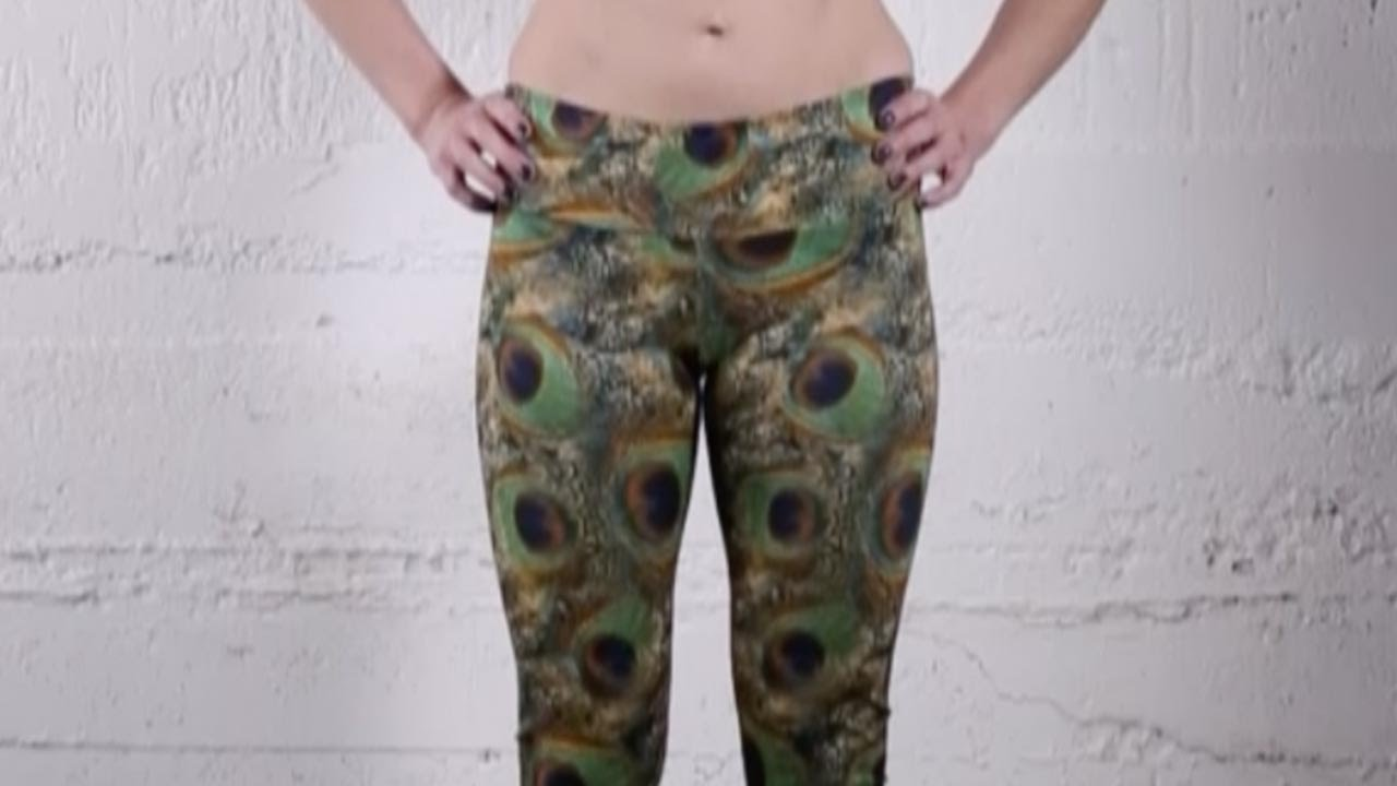 3d80e28c664b Onzie Long Legging in Peacock Green - YouTube