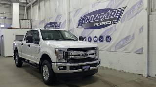 2019 Ford Super Duty F-350 SRW CrewCab XLT W/ 6.7L Power Stroke, Cloth Overview | Boundary Ford