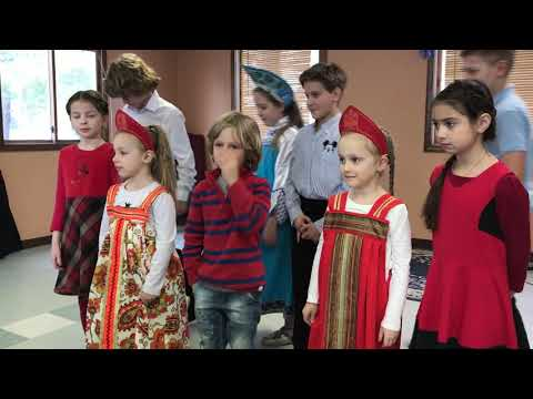 Dozhdik: Milford Academy for children concert 03.17.2018
