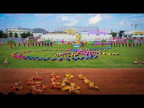 การแสดงพิธีเปิดกีฬา สพม.28 วันที่ 3 กรกฏาคม 2558