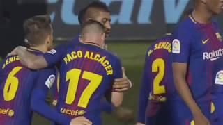 Celta vigo vs barcelona 2 2 all goals  highlights laliga 17042018 hd