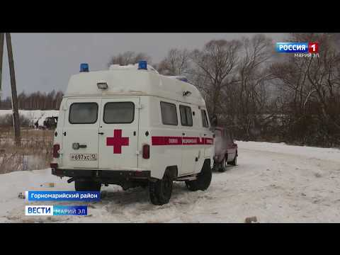 Жителям Марий Эл приходится добираться до работы по замёрзшей реке