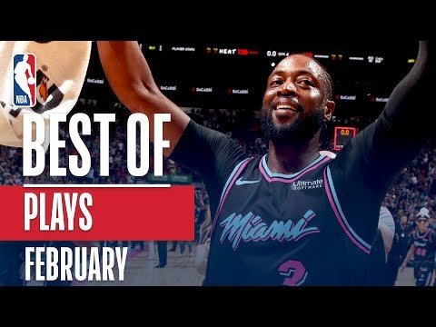 NBA's Best Plays | February 2018-19 NBA Season thumbnail