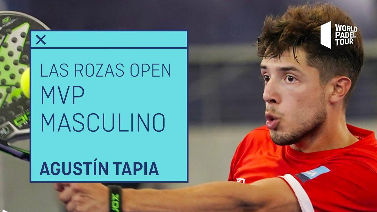 Agustín Tapia, MVP del Estrella Damm Las Rozas Open 2021