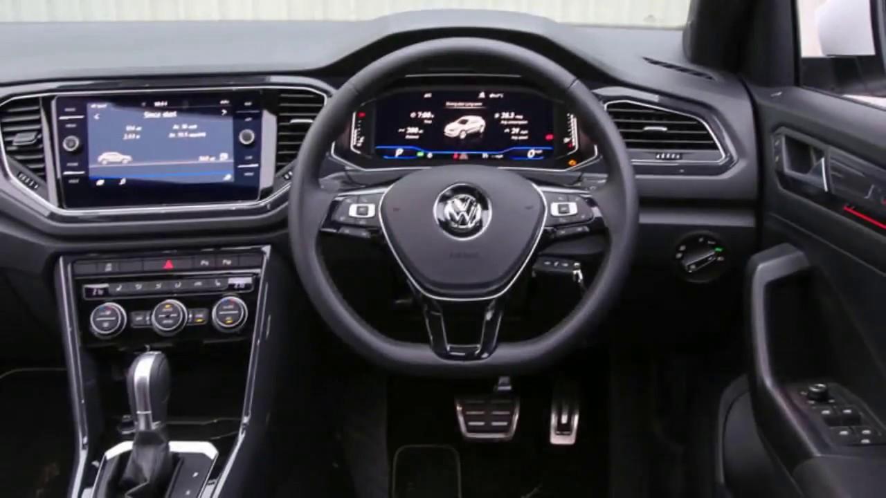 Volkswagen T Roc Interior Youtube