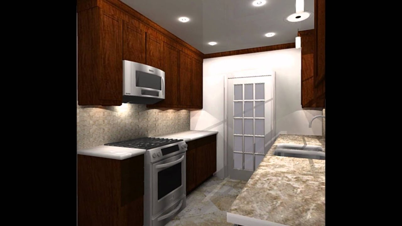 Overhaul A Galley Kitchen remodelwmv YouTube