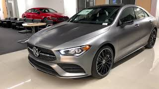 MBUX Infotainment | 2020 Mercedes-Benz CLA 250 4MATIC 4-door Coupé