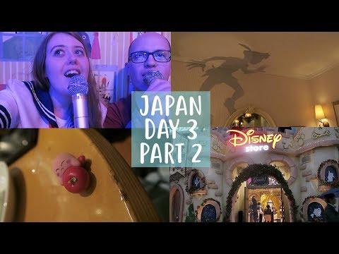 Japan Vlog | Day 3 Pt 2 | Disney Shopping, Harajuku, Karaoke and Room Tour!