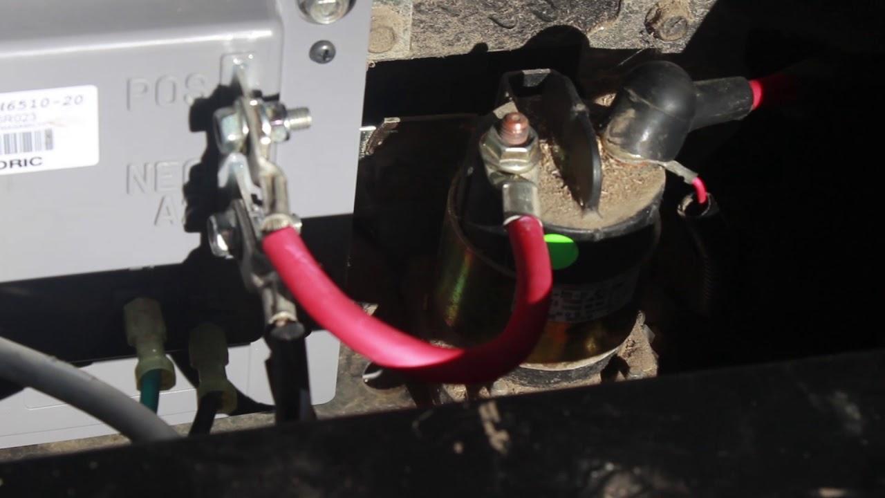 Yamaha G29 Golf Cart Controller and Motor replacement  YouTube