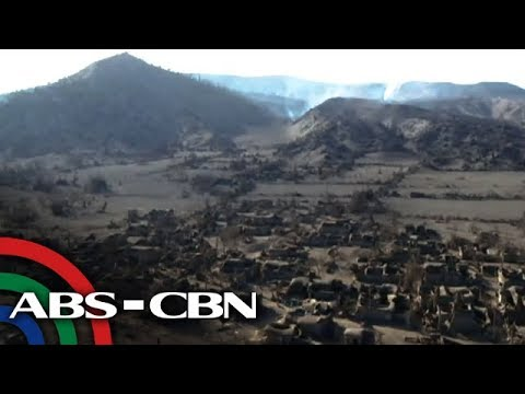 EXCLUSIVE DRONE VIDEO: Taal Volcano Island | ABS-CBN News