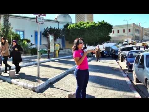 Programa Por Aí na Tunísia - Tunis
