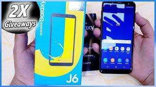 Samsung J6: Galaxy J6 Unboxing & Review 2018 - Hindi