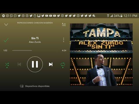Sin Ti - Alex Zurdo - Ya Disponible (Spotify)