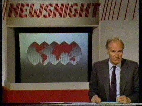 BBC NEWSNIGHT 1984.