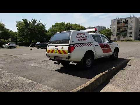 Katasztrófavédelem Doktorszolgálat riasztás / Disaster Management medical squad Budapest