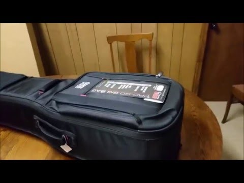 gator dual electric guitar case first impression unboxing youtube. Black Bedroom Furniture Sets. Home Design Ideas
