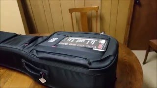 Gator Dual Electric Guitar Case First Impression Unboxing