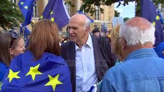 Britani, marshim në Londër kundër Brexit - Top Channel Albania - News - Lajme
