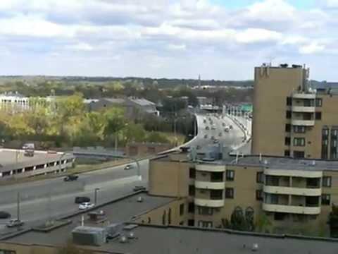 Interstate 35W in Minneapolis, Daytime