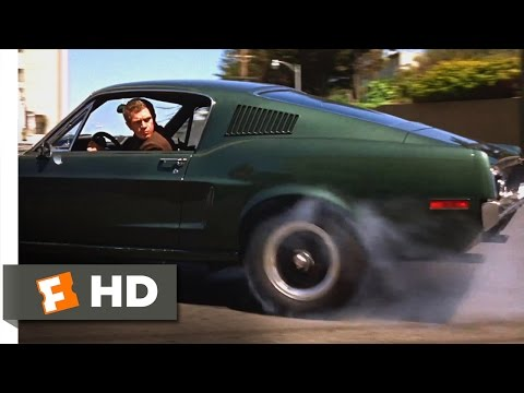 Bullitt 1968  San Francisco Car Chase  410  Movies
