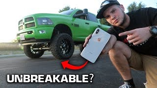 Running My IPHONE XS MAX Over With a MONSTER TRUCK!!!