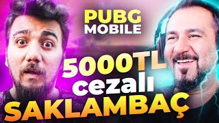 SESEGEL İLE 5000 TL CEZALI SAKLAMBAÇ! PUBG Mobile
