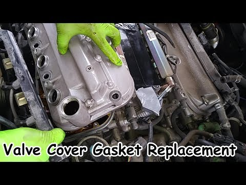 Acura TL (Honda Accord V6) Valve Cover Gasket Replacement