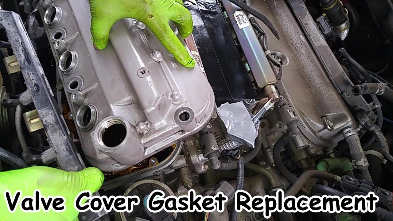 For Honda Acura 3.0L 3.2L 3.5L Valve Cover Gasket Set w//Grommets/&Spark Plug Seal