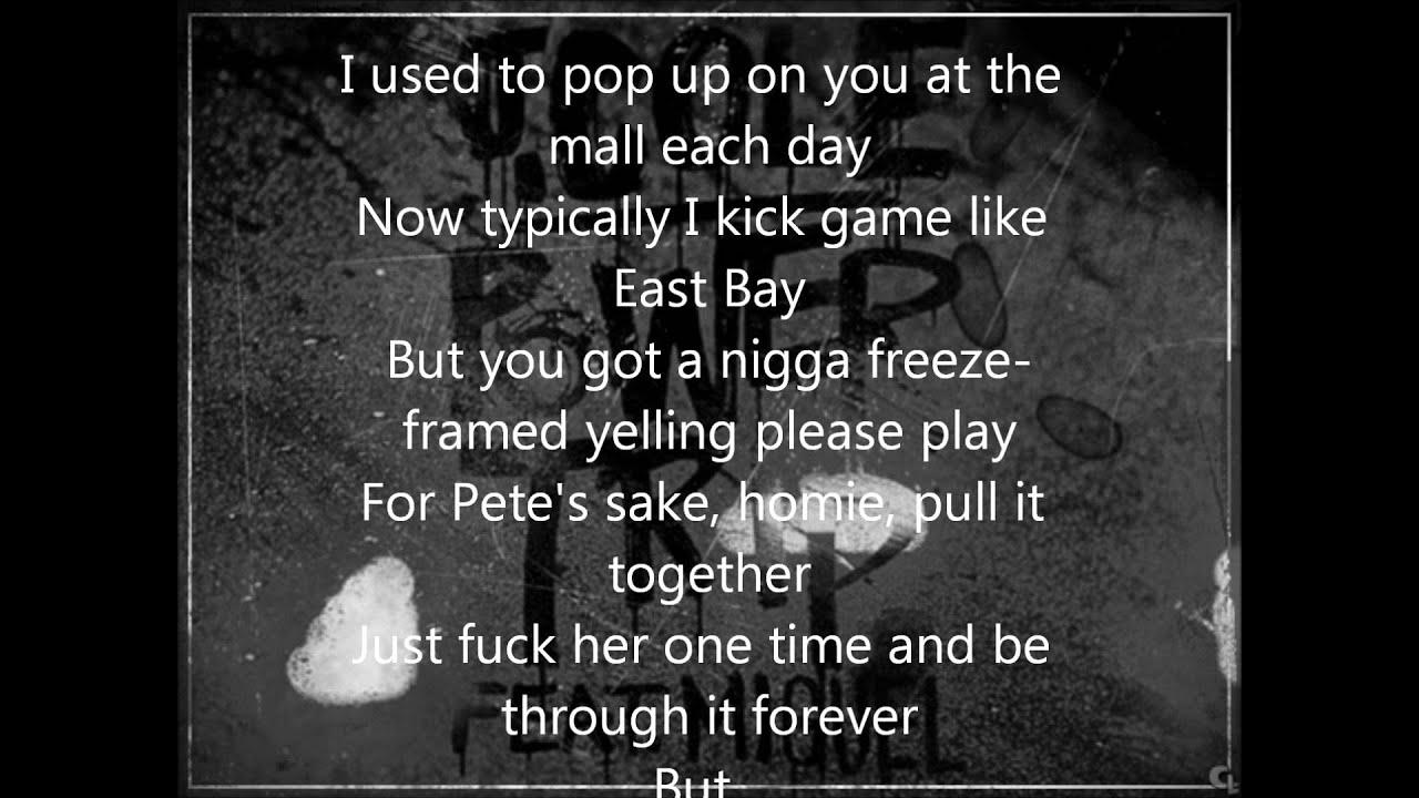 J Cole Power Trip Ft Miguel Lyrics On Screen Youtube