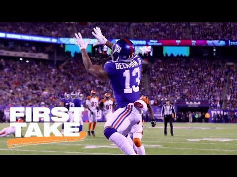 Stephen A.: Giants 'ain't worth a damn' without Odell Beckham Jr. | First Take | ESPN