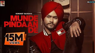 Munde Pindaan De Himmat Sandhu Free MP3 Song Download 320 Kbps