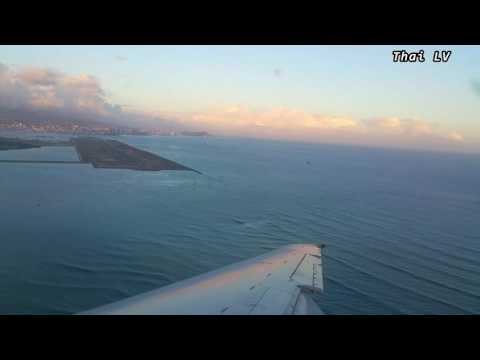 Hawaiian Airlines Landing at Honolulu International Airport