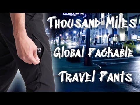 Thousand Miles Global All Day Pants | Minimalist Clothing | Travel Pants | Best Men's Pants